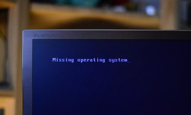 "How to Fix the ""Missing Operating System"" Error?"