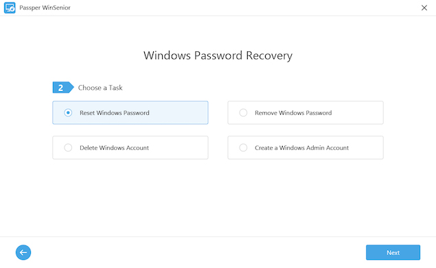 iMyFone Windows Password Recovery