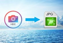 Convert HEIC photos to JPG